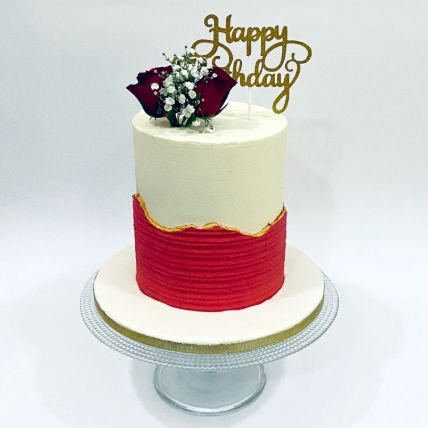 Designer Happy Birthday Cake