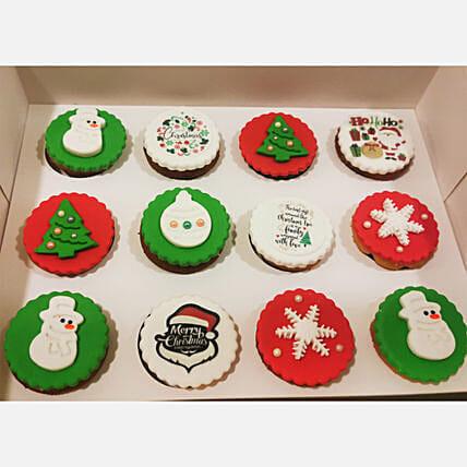 Christmas Orange Cup Cakes