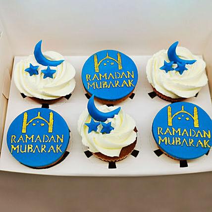 Ramadan Vanilla Cup Cakes