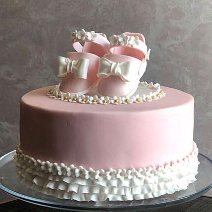 Baby Shower Chocolate Cake