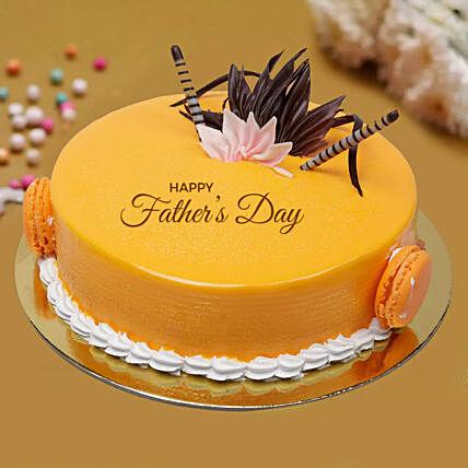 Delicious Fathers Day Mango Cake Half Kg