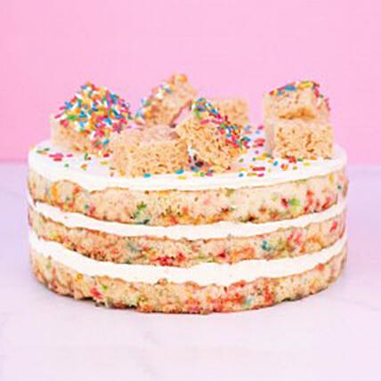 White Velvet Party Cake