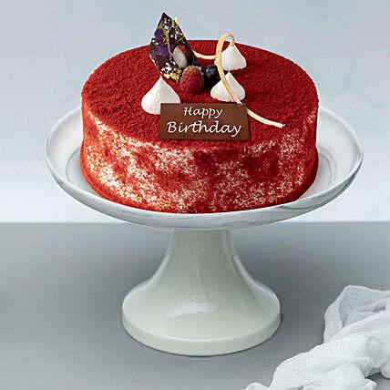 Velvety Birthday Surprise Cake 1 kg